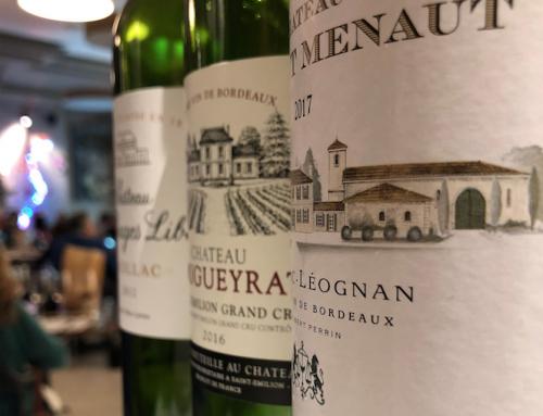 26 febbraio, seconda serata con i vini Bordolesi